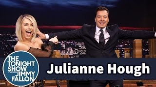 Julianne Hough Helps Jimmy Find A Go To Dance Move
