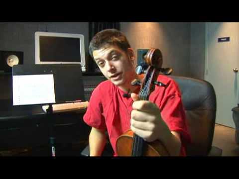 Violin B Harmonic Minor Scale: 8th Scale Degree
