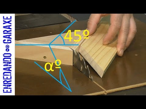 How to cut compound angles with a miter sled