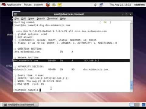 Configurar e Instalar el servicio DNS en Red Hat Enterprise Linux 6.0