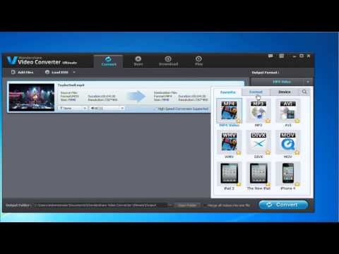 How to Convert QuickTime (MOV) to Windows Media Player (Windows 8 included)