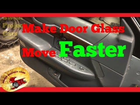 How To: Make Your Power Windows FASTER! VIDEO #2