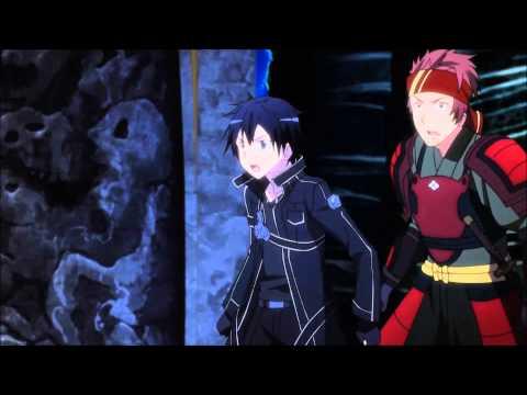  Clip  Sword Art Online - Kirito Vs The Gleam Eyes