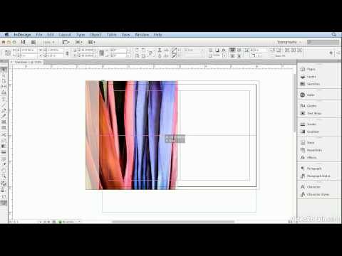 Adobe Indesign CS6 Tutorial - 22  Creating the Front of a Postcard