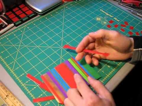 Mini Tutorial - Duct tape Christmas present bows