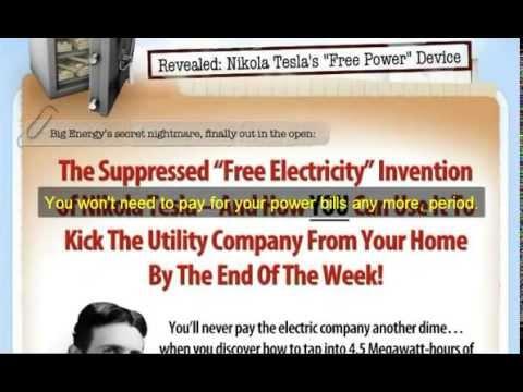 Nikola Tesla secret documents| How to build 100% Free electricity Source