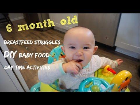 Easy DIY Baby Food | 6 Months