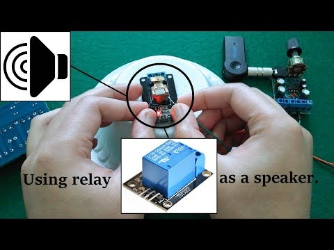 Using relay as a speaker!