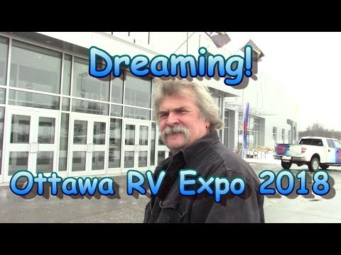 At The Ottawa Rv Expo 2018 With the Volfies