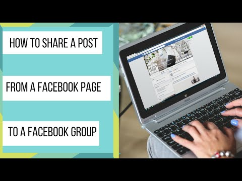How To Share A Post From A Facebook Page To A Facebook Group