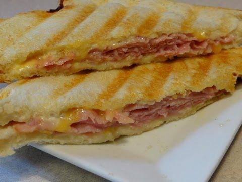 Ham and Cheese Panini - CookingAndCrafting's Way (Tramezzino)