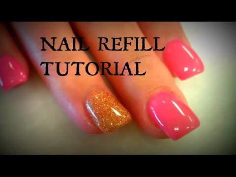 ACRYLIC NAILS REFILL TUTORIALS