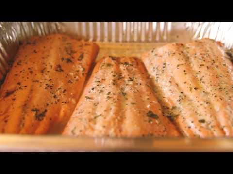 Smoked Salmon with Citrus Salsa on the ThermoTemp Smoker