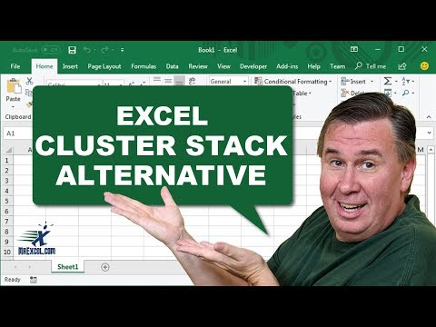 MrExcel's Learn Excel #845 - Stacked Column 3