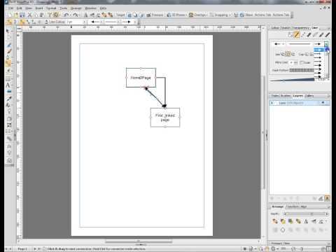 Website design 1:structure chart