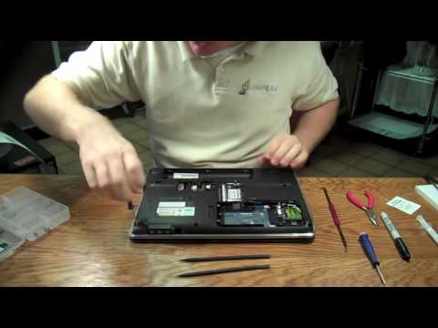 How to Clean the Fans on HP DV4   Overheating