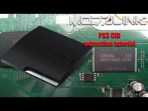 How to extract a PS3 Console ID (CID)