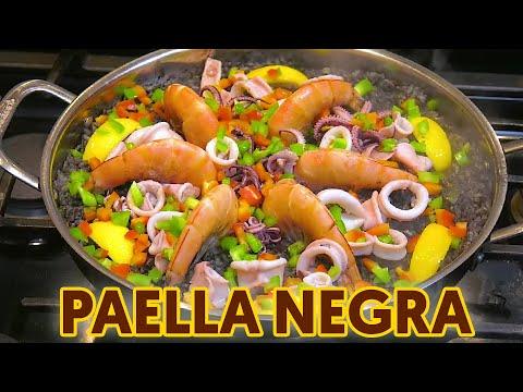 Paella Negra (Arroz Negre or Black Paella)