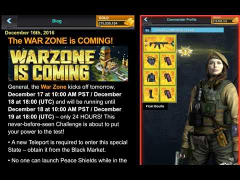 Mobile Strike WARZONE CHALLENGE - DEFENDING OUR TILE AGAINST SEVERAL RALLIES!!