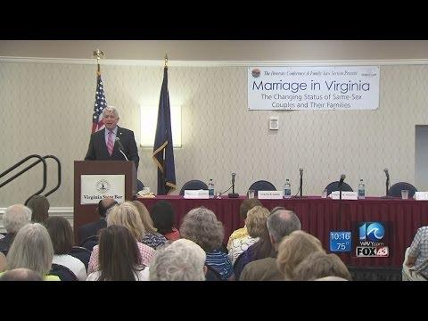 Herring talks same-sex marriage in Virginia Beach