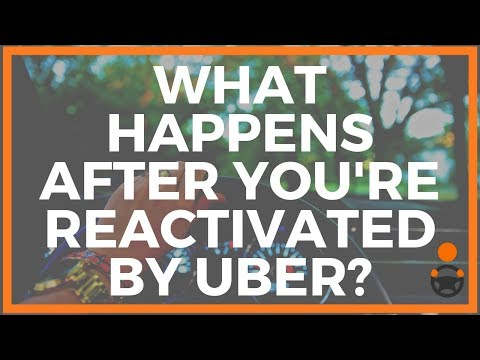 What Happens After You're Re-activated by Uber? [Jay Presents]