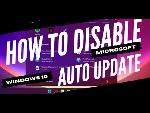 HOW TO TURN OFF AUTOMATIC UPDATE IN WINDOWS 10