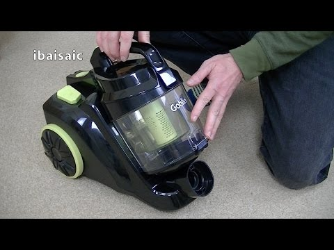 Goblin GVC303B Cylinder Bagless vacuum Cleaner Demonstration