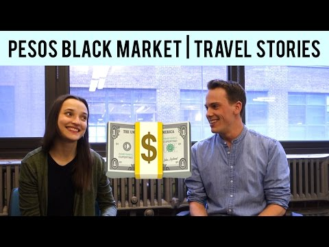 Doubling your money in Argentina's Black Market 🇦🇷   Travel Stories With Ambroise Debret