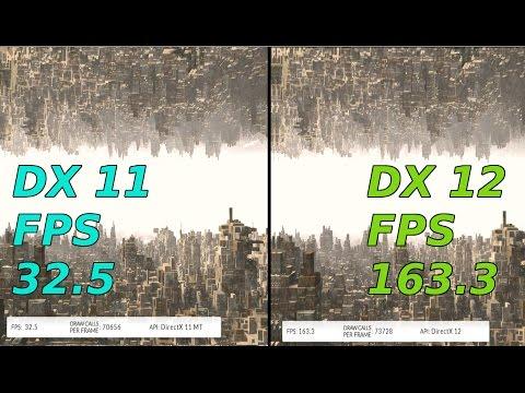 DirectX 11 vs DirectX 12 Benchmark