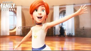 LEAP! - New Trailers for the family animated movie starring Elle Fanning