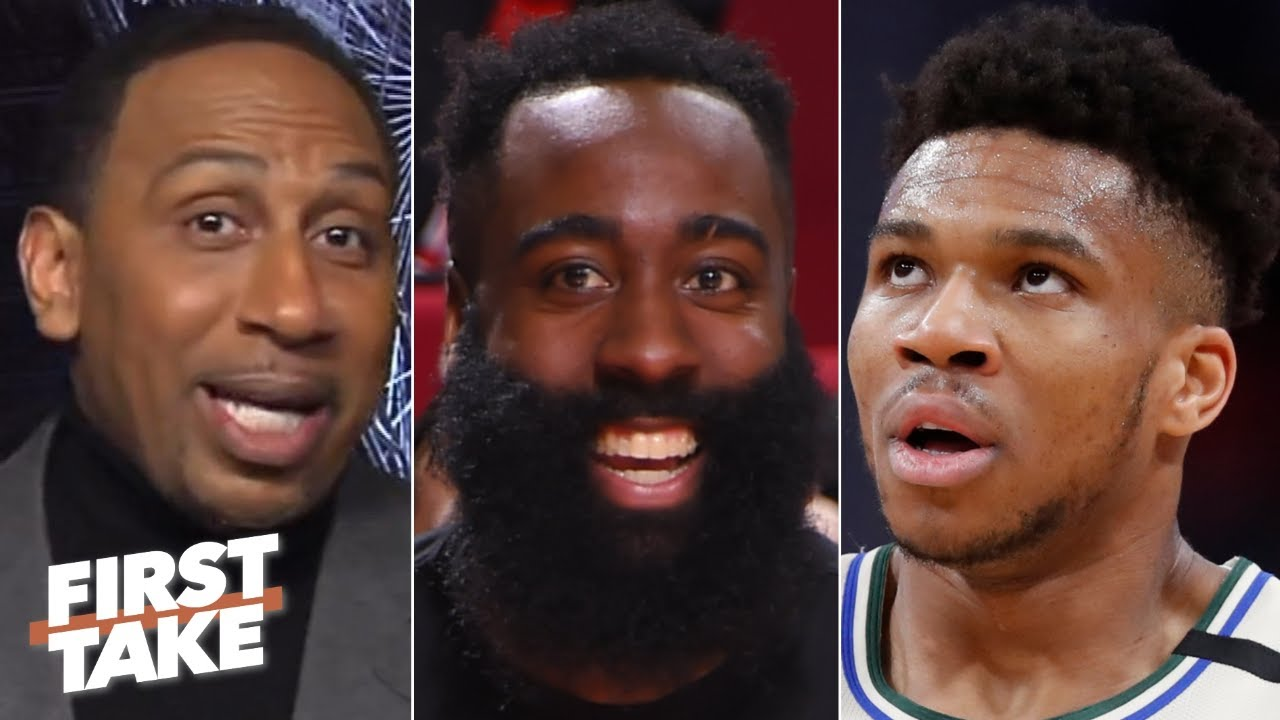 Stephen A. loves James Harden's clap back at Giannis   First Take