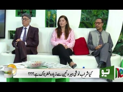Dr. Sadaqat Ali and Mrs. Uzma Sadaqat talks about Alcoholism and Drug addiction