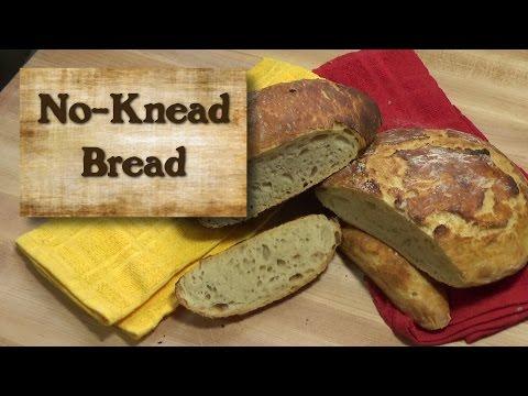 No-Knead Bread - Bread Flour vs. All-Purpose Flour