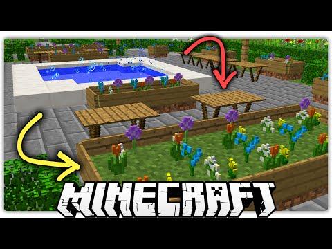 Minecraft | 5 Special Ways to Make a Beautiful Park / Garden