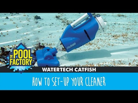 WaterTech Catfish - How to set-up your cleaner