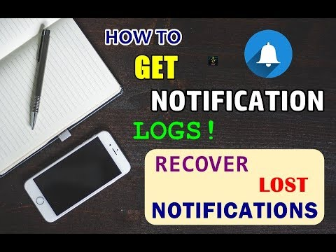 How To Recover Lost Notifications? | Get Accidentally Swiped Notifications Back | Notification Log
