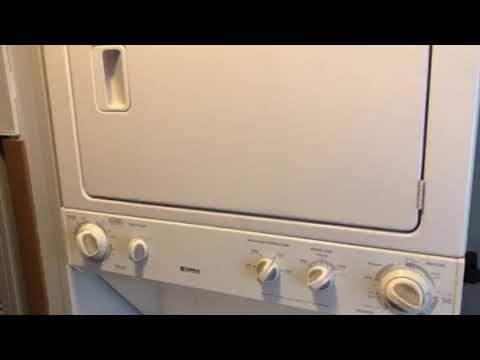 Kenmore stackable washer dryer combo bearing replacement and heating coil
