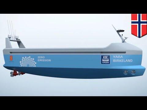 Autonomous container ship: All-electric, autonomous container vessel set to sail in 2020 - TomoNews