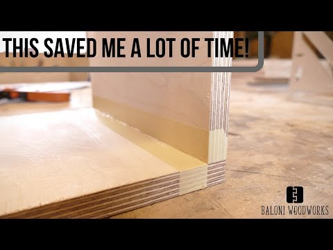 A Simple WOODWORKING TRICK that could save you A LOT of time!