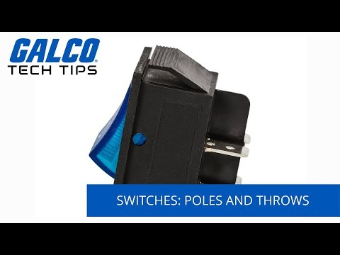 Switches: Poles and Throws Explained - A Galco TV Tech Tip