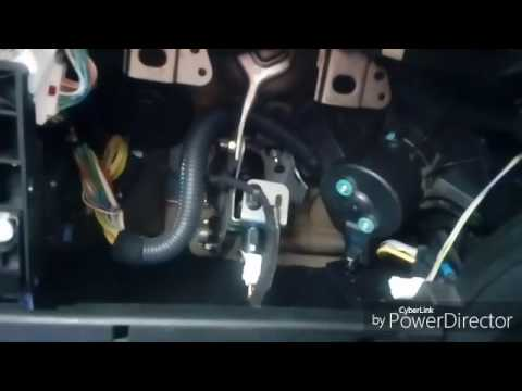 Peugeot 307 heater blower fan and resistor removal