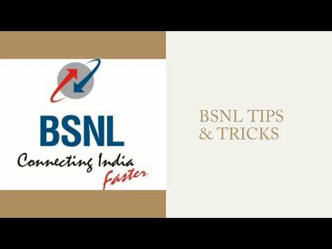 BSNL MOBILE TIP 5: #SIM REPLACEMENT.