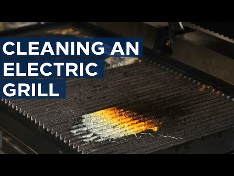 How to Clean an Electric Grill - Get appliance insights on top brands like Samsung and LG - Youtube