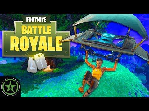 Let's Play - Fortnite: Battle Royale - Bush Strats - AH Live Stream