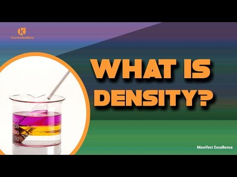 Density (definition) | Definition of S I unit of density - Kisembo Academy