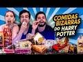 GASTAMOS 🔴MIL REAIS 🔴 COM DOCES BIZARROS DO HARRY POTTER