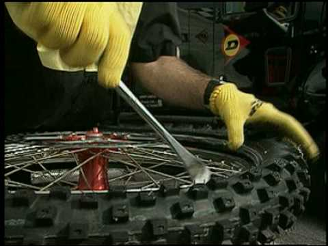 Dunlop Motorcycle: How-To Remove A Motocross Tire