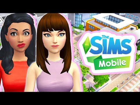A NEW ROOMMATE!✨💚 // THE SIMS MOBILE #2 [GAMEPLAY]