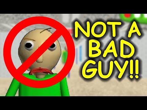 Baldi is NOT A BAD GUY! - Baldi's Basics