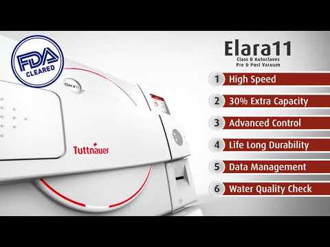 Elara 11 Pre/Post Vaccum Table Top Autoclave [FDA Approved]